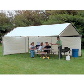 WeatherShield Portable White Canopy 8'W x 10'L