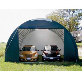 SolarGuard Oversized Garage 20'W x 12'H x 36'L Tan