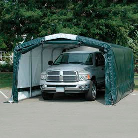 "Storage Master Elite 12'W x 12'4""H x 30'L Green"