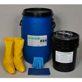 Spill Wizards Ultimate Acid Eater Absorber Spill Kit, 15 Gallon, 2004-015