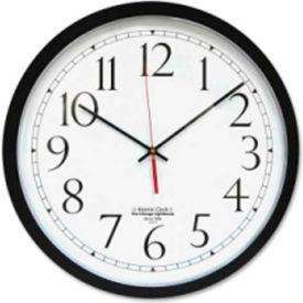 "The Chicago Lighthouse Atomic Clock 16.5"" Black"