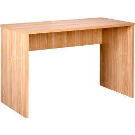 """OneSpace Modern Office Desk - 35"""" - Oak"""