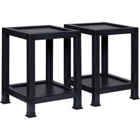 """OneSpace ECO 100% Recycled Paper End Table - 14.5""""L x 14.5""""W x 20""""H - Black"""