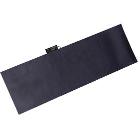 Relaxzen 10 Motor Massage Mat With Heat Removable Cover And Pillow   Gray
