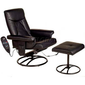 Relaxzen Massage Recliner with 8-Motor & Heat