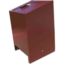 BearSaver BE Series 70 Gal. Animal Resistant Waste Receptacle - Brown