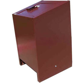 BearSaver BE Series 70 Gal. Animal Resistant Recycling Receptacle - Green