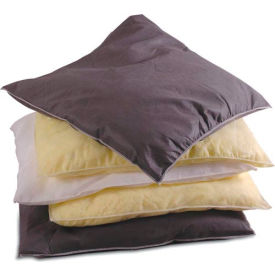 """Chemtex 1824-O Absorbent Pillows, Oil Only, 18"""" x 24"""", 15/Pack"""