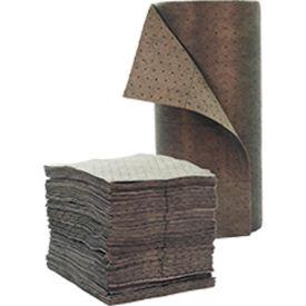 "Chemtex 30"" x 150' Medium Wt., Bonded Meltblown Universal Absorbent Roll, Gray"