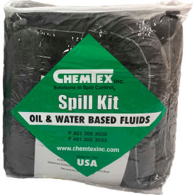 Chemtex SKB-U Truck Spill Kit, Universal, 5-Gallon, Zipper Bag