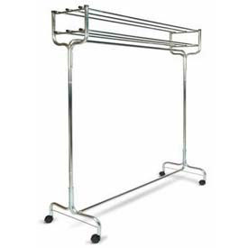 """60"""" Double Portable Valet With Casters"""