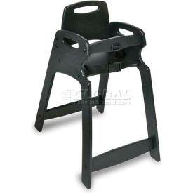 CSL ECO Chair™ High Chair, Dark Brown, Assembled, 2-Pack - Pkg Qty 2