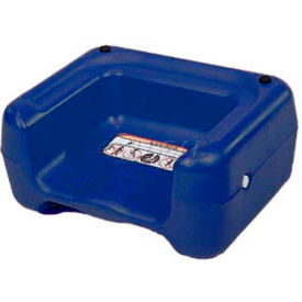 CSL Booster Seat, Dual Heights, Extra Wide Base, Blue, 1-Pack