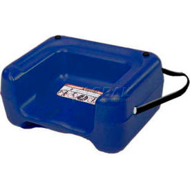 Koala Kare Booster Seat with Strap, Dual Heights, Extra Wide Base, Blue, 1-Pack by
