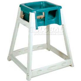 CSL KidSitter™ High Chair, Beige Frame/Green Seat