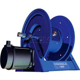 Coxreels 1125PCL-8-H HD Motorized Power Cord Reel: 250'/12 Ga & 200'/10 Ga Cap,30A,Hydraulic Motor by