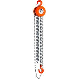 CM Series 622 Hand Chain Hoist, 2 Ton Cap., 10Ft. Lift