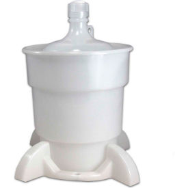 CP Lab Safety Port Cap System, 4 Liter Plastic Bottle, 38mm 4-Port Cap, Secondary Container