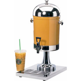 """Cal-Mil 1010 Stainless Steel Beverage Dispenser 2 Gallon 10""""W x 14""""D x 23""""H by"""