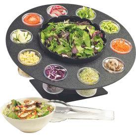 """Cal-Mil 1014 Revolving Salad Server 18""""W x 18""""D x 9-1/2""""H"""
