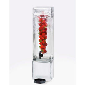 "Cal-Mil 1112-3AINF Square Acrylic Infusion Dispenser 3 Gallon 7""W x 9""D x 26-1/2""H"