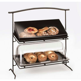 """Cal-Mil 1330-12-13 2 Tier Iron Stand 26-1/4""""W x 12-1/2""""D x 27-1/2""""H"""