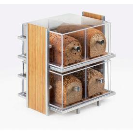 "Cal-Mil 1480 2 Drawer Bread Box 12""W x 12""D x 6""H"