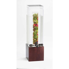 "Cal-Mil 1527-3INF-52 Bamboo Infusion Beverage Dispenser 3 Gallon 8-1/4""W x 9-3/4""D x 26-3/4""H"