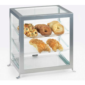 "Cal-Mil 1575-13 Soho Display Case 21-1/4""W x 15-5/8""D x 20-3/4""H Black"