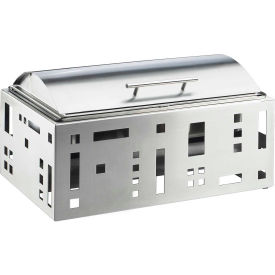 """Cal-Mil 1613-55 Squared Chafer 23""""W x 15""""D x 9-1/4""""H Stainless Steel"""