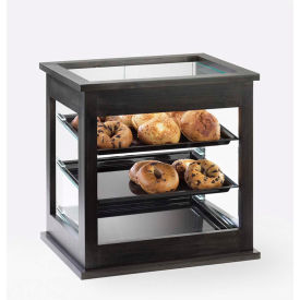 """Cal-Mil 284-96 Midnight Bakery Display Case with Black Trays 21""""W x 16-1/4""""D x 22-1/2""""H"""