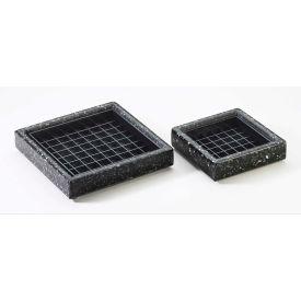 """Cal-Mil 330-6-52 Square Drip Tray 6""""W x 6""""D x 1""""H - Pkg Qty 6"""