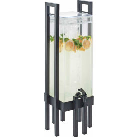 """Cal-Mil 3302-3-13 One by One Acrylic Beverage Dispenser W/Ice Chamber 9""""W x 9""""D... by"""