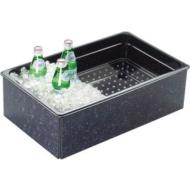 """Cal-Mil 368-12-17 Fully Insulated Ice Housing 12""""W x 20""""D x 6""""H Charcoal Granite"""