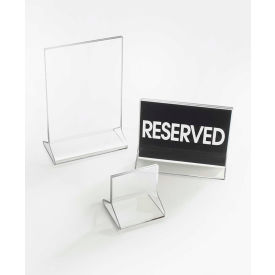 "Cal-Mil 521 Classic Standard Tabletop Cardholder 4-1/2""W x 5-1/2""H - Pkg Qty 24"