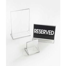 "Cal-Mil 524 Classic Standard Tabletop Cardholder 5-1/2""W x 8-1/2""H - Pkg Qty 24"