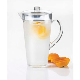 "Cal-Mil 682-INFUSION Pitcher with Infusion Chamber 2 Liter Capacity 9""W x 9""D x 10""H"