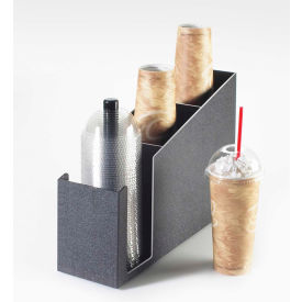 """Cal-Mil 724 Dome Lid and Cup Organizer 15-1/2""""W x 5""""D x 12""""H"""
