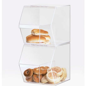 "Cal-Mil 992 Classic Stackable Food Bin 7-1/2""W x 19-1/2""D x 8""H"