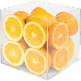 """Cal-Mil CC334 Clear Acrylic Cube 8""""W x 12""""D x 25""""H"""