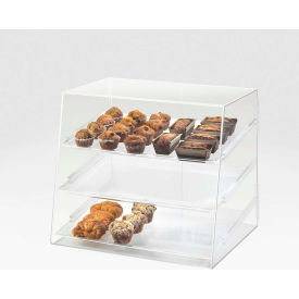 """Cal-Mil P254 Large 3 Tray Display Case 26-1/2""""W x 22-1/2""""D x 23-1/2""""H"""