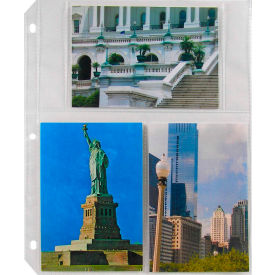 C-Line Products 4 x 6 Multiview Photo Holders, Clear, 11 1/32 x 9 3/16, 50/BX - Pkg Qty 2