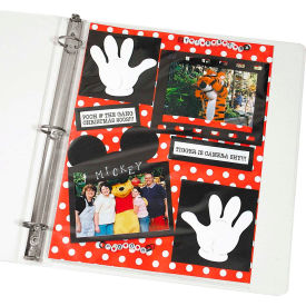 C-Line Products Memory Book 11 x 8 1/2 Scrapbook Page Protector, Top Load, Clear, 50/BX