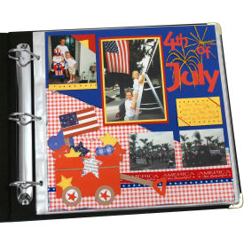 C-Line Products Memory Book 12 x 12 Scrapbook Page Protectors, Top Loading, Clear, 50/BX