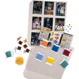 C-Line Products Collector's Edition Trading Card Holders, Top Load Poly., 11 1/4 x 9, 10/PK - Pkg Qty 6