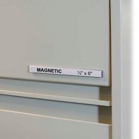 C-Line Products HOL-DEX Magnetic Shelf/Bin Label Holders, 1/2  Inch Magnetic Label Holder, 10/BX - Pkg Qty 2