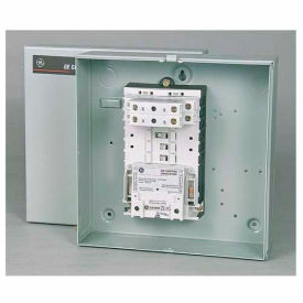 GE CR463L20AJA10A0 Lighting Contactor Panel w/NEMA 1 Enclosure, 30A, 2 pole (2)NO, 120V