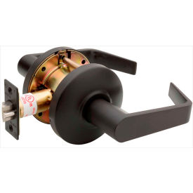 "Copper Creek Avery Grade 2 Cylindrical Lever Passage, 5""L x 2-3/4""H x 2-5/8""D, Bronze"
