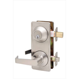 """Copper Creek Avery Grade 2 Interconnect Passage, 4-5/8""""L x 2-1/2""""H x 2-1/4""""D, Satin Stainless"""