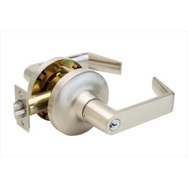 "Copper Creek Avery Grade 1 Lever Classroom, 5-5/8""L x 3""H x 2-5/8""D, Satin Stainless"